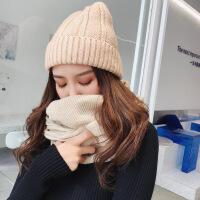 帽子女士秋冬新款 日系百搭保暖针织帽 韩版户外街头毛线帽男