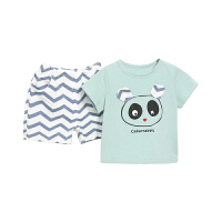 男童夏装儿童夏季两件套男小童t恤夏宝宝短袖套装