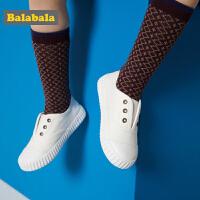 巴拉巴拉儿童帆布鞋女童鞋小童宝宝鞋子男新款春秋儿童布鞋潮