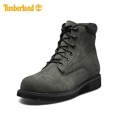 【清仓】Timberland添柏岚男鞋春秋新款马丁靴经典6英寸鞋靴  A1QR2/铁灰绿