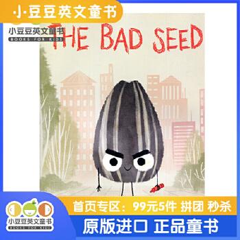 进口英文绘本 The Bad Seed 坏种子 【4-8岁】