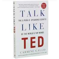 现货 英文原版 Talk Like TED: The 9 Public-Speaking Secrets of the