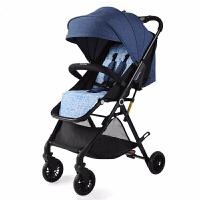 婴儿推车可坐可躺避震小孩推车超轻便携高景观可折叠婴儿车