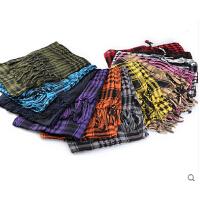 服饰配件 薄款 纯棉阿拉伯方巾骑行围巾面罩军迷头巾魔术百变围脖