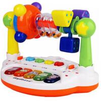 0-1-3岁男孩女孩玩具5摇铃婴儿宝宝音乐早教幼儿4-6-8-12个月