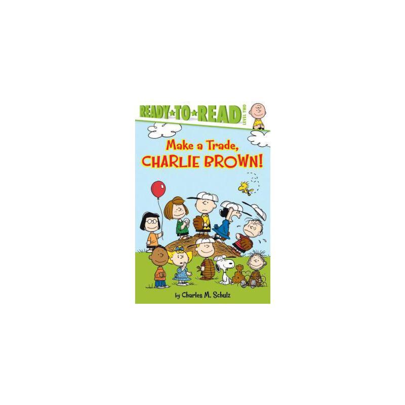 【预订】Make a Trade, Charlie Brown! 预订商品,需要1-3个月发货,非质量问题不接受退换货。