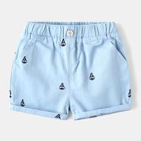 儿童短裤纯棉薄款宝宝休闲裤童装男童