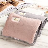 热水袋充电式暖手宝��宝宝毛绒女暖水袋