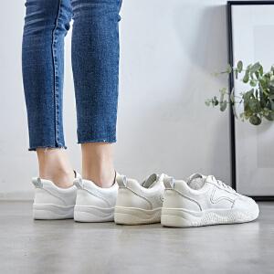 小白鞋女ZHR2019春季韩版平底板鞋网红休闲鞋超火智薰鞋学生女鞋