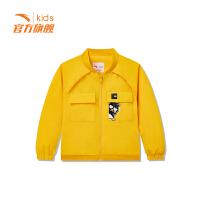 【3折价110.7】安踏童装男小童梭织薄外套儿童运动服外套35919652