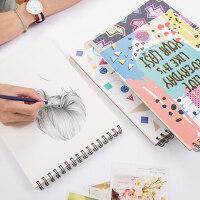 手绘空白素描本美术绘画本A4速写本图画本画画本涂鸦画纸彩绘本