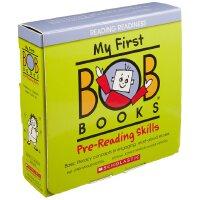 英文原版 我的*本鲍勃书:初级阅读技能 My First Bob Books: Pre-Reading Skills