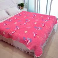 法兰绒床单单件毛毯加厚冬季防滑毛绒毯子加绒床盖珊瑚绒单双人k