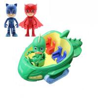 睡衣小英雄 蒙面小英雄蒙面侠睡衣小英雄6款关节可动公仔蒙面超人侠玩具