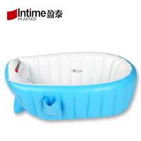 室内浴缸游泳池婴幼儿小孩洗澡盆宝宝充气浴盆加厚保温新生儿家用