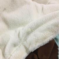 ins婴儿童秋冬盖毯 针织毛毯宝宝空调棉加厚毯子外出推车盖毯被y