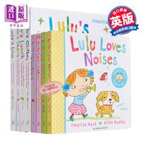 【中商原版】露露生活小习惯 Lulus8册 Lulus Loo 低幼亲子生活习惯启蒙绘本Lulu系列 英文原版