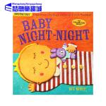 英文原版绘本0 2 3岁 Baby Night-Night 宝宝晚安 美国Indestructibles咬咬书 可水洗