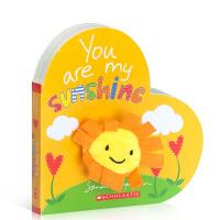 顺丰发货 英文原版 YOU ARE MY SUNSHINE 你是我的阳光学乐3-6岁幼亲子阅读宝宝睡前故事益智游戏书籍