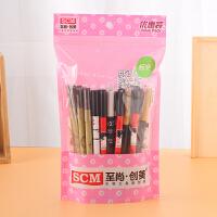 30支袋装中性笔水性笔 黑色水笔学习用品创意文具