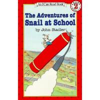 蜗牛的学校历险进口原版 平装 分级阅读小学阶段(7-12岁),John Stadler(约翰・斯德勒),暂无,9780