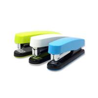 得力彩色订书机 订书器 装订机 0413省力型订书机 颜色随机