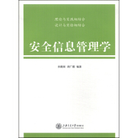 【正版二手书9成新左右】安全信息管理学 孙殿阁,胡广霞 上海交通大学出版社