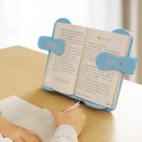 读书架简易桌上阅读架儿童固定书本学生用网红韩国学生夹书器多功能创意书夹支书架伸缩抬头看书神器书立