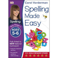 英文原版进口 DK Spelling Made Easy Year 1 Ages 5-6 Key Stage 1 Ca
