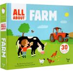 英文原版绘本 Twirl All About Farm 精装 翻翻操作书 幼儿SETAM科普启蒙 儿童认知识物 3-6