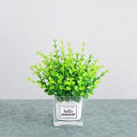 仿真植物小清新北欧绿植ins风假草盆栽摆件室内外装饰桌面假花