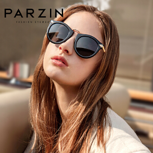 帕森太阳眼镜女 大框圆脸时尚复古女士潮流驾驶偏光镜墨镜女9231