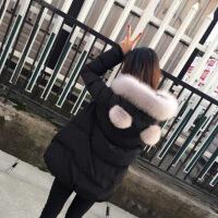 2019新款冬季女装斗篷型斗篷棉衣外套韩版显瘦加厚娃娃版短款潮 黑色