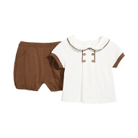 儿童短袖套装男童夏装两件套婴儿宝宝夏季衣服