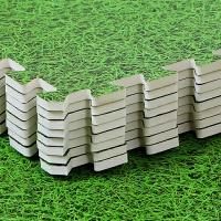 婴儿童爬行垫草坪地板拼接泡沫地垫子家用卧室加厚大号客厅60×60 绿色草坪纹 60x60x1cm【10片】