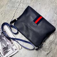 男包单肩包横款休闲包时尚斜挎包韩版背包商务男士包包