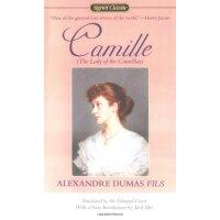 英文原版经典名著 camille 小仲马茶花女英文版 正版小说