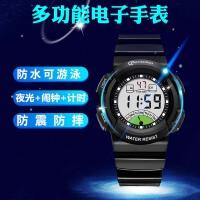 儿童手表男孩防水夜光初中小学生手表女童手表男童运动电子表