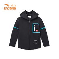 【3折价170.7】安踏童装男童梭织运动上衣儿童运动外套35918703