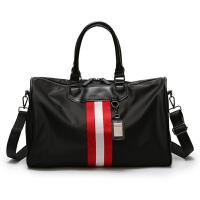 短途旅行包女韩版防水行李包袋大容量轻便运动健身包手提包男士潮 大