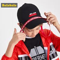 【3件4折价:35.96】巴拉巴拉男童帽子夏装新款儿童鸭舌帽潮酷时尚休闲韩版棒球帽