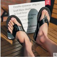 男士人字拖时尚外穿新款韩版潮凉拖鞋个性防滑夹脚沙滩