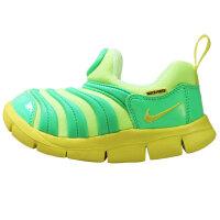 【到手价:199.5元】耐克(Nike )毛毛虫男女童运动鞋舒适耐磨防滑跑步鞋343938-306 绿色
