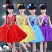 幼儿园舞蹈跳舞表演服装儿童节演出服女童公主裙女孩蓬蓬纱裙