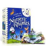 【顺丰包邮】英文进口原版 A Pop-Up Book of Nursery Rhymes 儿童经典儿歌童谣立体书3-6