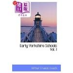 【中商海外直订】Early Yorkshire Schools Vol. I