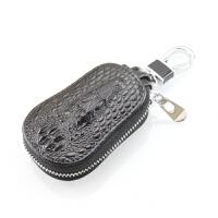 纹汽车钥匙包头汽车锁匙包头层牛皮钥匙包保护套男女
