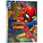 漫威复仇者联盟 蜘蛛侠 5分钟故事集12个故事合集 英文原版 Disney 5-Minute Spider-Man S