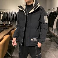 棉衣男士外套冬季2019新款韩版潮牌帅气工装加厚棉袄冬装