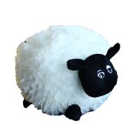 小羊肖恩毛绒玩具公仔情侣肖恩羊暖手抱枕羊驼女生日礼物可爱插手